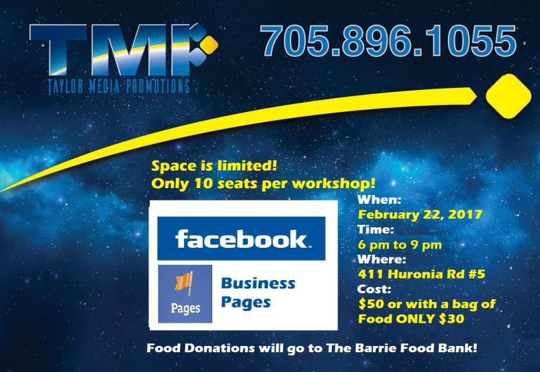 Facebook Workshop for Business Pages